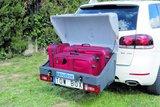 TowBox V1 Grijs bagagebox voor op de trekhaak 350 liter_16