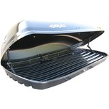 Farad N6- 480 Liter Dakkoffer skibox hoogglans zwart_14