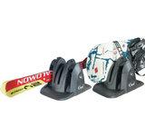 Magnetische skidrager Shark voor 2 pr ski's of snowboards met slot_16