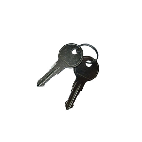 Set sleutels Aguri sleutelnummer 001 (2st)