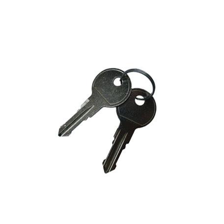 Set sleutels Aguri sleutelnummer 010 (2st)