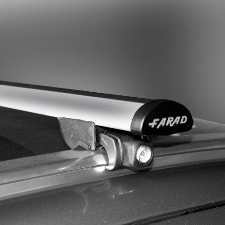 Farad dakdragers Opel Zafira 5 deurs 2005 t/m 2007 met geintegreerde/gesloten dakrails