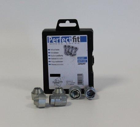 Wielslot / Velgslot speciaal voor Ford Tourneo Courier vanaf 01/2014- Complete set