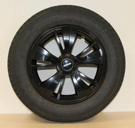 Wieldop/Wieldoppen Farad 16 inch zwart topkwaliteit
