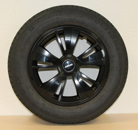 Wieldop/Wieldoppen Farad 15 inch zwart topkwaliteit