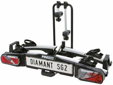 Fietsendrager Pro-User SG2 luxe uitvoering voor 2 x E-bike