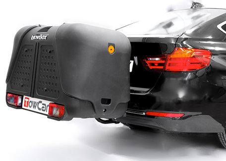 Towbox V2 zwart trekhaak bagagebox 390 liter