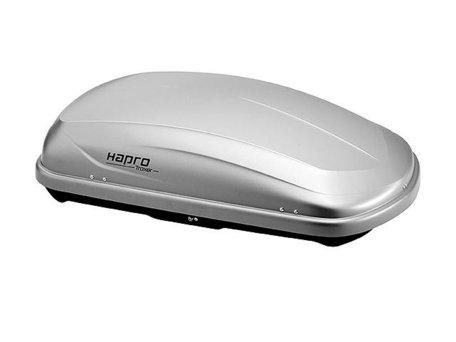 Dakkoffer Hapro Traxer 4.6 Zilver grijs 370L