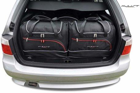 Kofferbak tassenset Bmw 5 serie Touring E61 2003 t/m 2010
