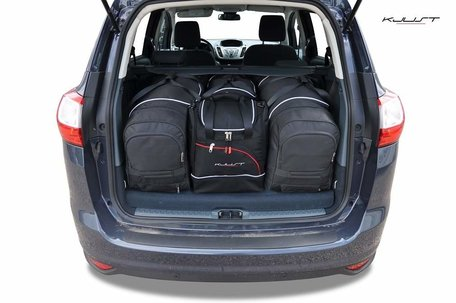 Kofferbak tassenset Ford Grand C t/m Max Ii 2010 t/m 2015