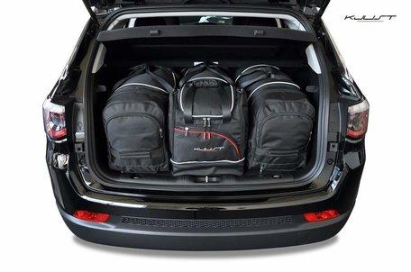 Kofferbak tassenset Jeep Compass Ii vanaf 2017