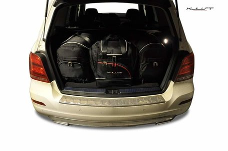 Kofferbak tassenset Mercedes Glk 2008 t/m 2011