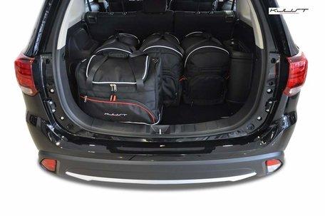 Kofferbak tassenset Mitsubishi Outlander Iii 2012 t/m 2014