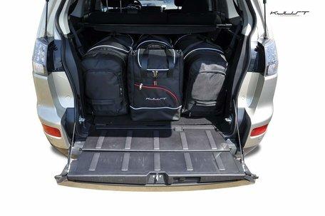 Kofferbak tassenset Mitsubishi Outlander Ii 2006 t/m 2012