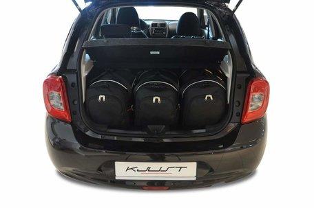 Kofferbak tassenset Nissan Micra Iv Hatchback 5 Deurs 2010 t/m 2013
