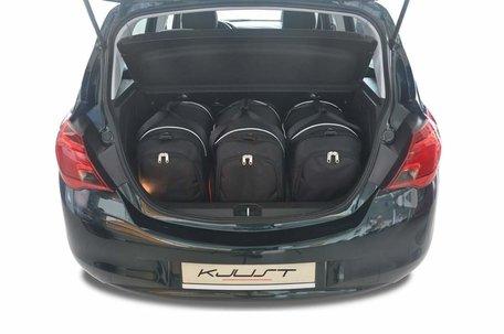 Kofferbak tassenset Opel Corsa Hatchback 5 Deurs E vanaf 2014