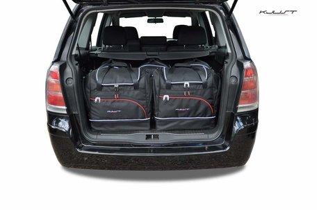 Kofferbak tassenset Opel Zafira B 2005 t/m 2014