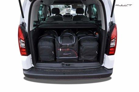 Kofferbak tassenset Peugeot Partner Tepee Ii 2008 t/m 2012