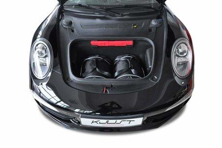 Kofferbak tassenset Porsche 911 Carrera 4/4S Cabrio 991 2012 t/m 2015