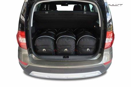 Kofferbak tassenset Skoda Yeti Minivan 2009 t/m 2013