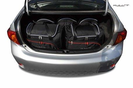 Kofferbak tassenset Toyota Corolla 4D Sedan X 2007 t/m 2010