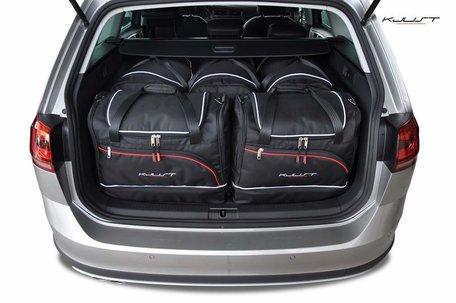 Kofferbak tassenset Volkswagen Golf Variant Alltrack Vii 2015 t/m 2016