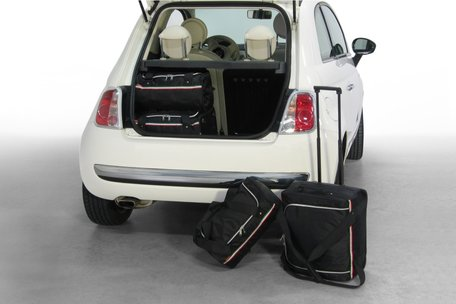 Carbags tassenset Fiat 500 (+ Cabrio) 2007-heden 3 deurs