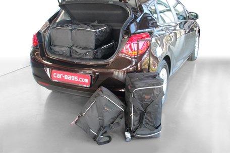 Carbags tassenset Opel Astra J 2009-2015 5 deurs
