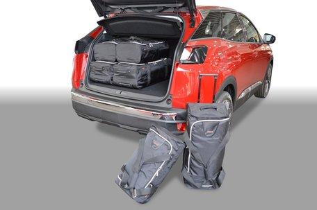 Carbags tassenset Peugeot 3008 II 2016-heden (verstelbare laadvloer in bovenste stand)