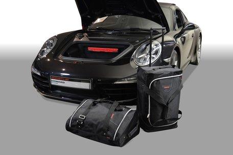 Carbags tassenset Porsche 911 (991) 2011-heden (2WD links- en rechtsgestuurd + 4WD alleen linksgestuurd)