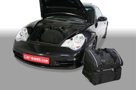 Carbags tassenset Porsche 911 (996) 1997-2006 (2WD + 4WD met CD wisselaar in bagageruimte)