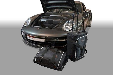 Carbags tassenset Porsche 911 (997) 2004-2012 (2WD zonder CD wisselaar of met CD-wisselaar bovenop het schutbord)