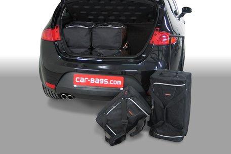 Carbags tassenset Seat Leon (1P) 2005-2012 3/5 deurs