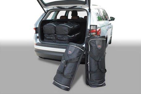 Carbags tassenset Skoda Kodiaq 2017-heden (5-zits met reservewiel)