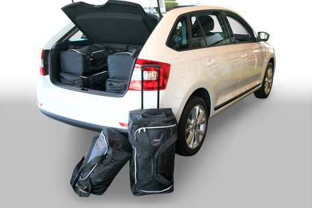 Carbags tassenset Skoda Rapid Spaceback (NH1) 2013-heden 5 deurs