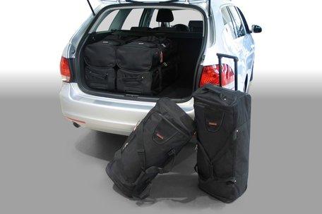 Carbags tassenset Volkswagen Golf V (1K) & VI (5K) Variant 2007-2013