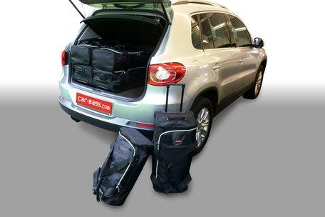 Carbags tassenset Volkswagen Tiguan (5N) 2007-2015 (hoge laadvloer)