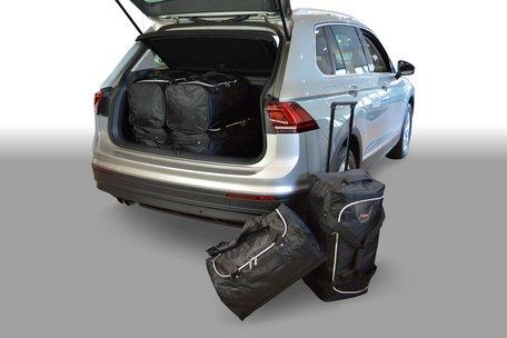Carbags tassenset Volkswagen Tiguan II 2015-heden (diepe laadvloer)