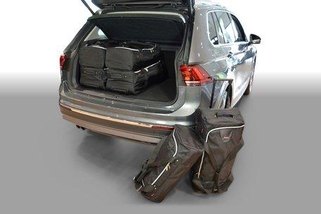 Carbags tassenset Volkswagen Tiguan II 2015-heden (hoge laadvloer)