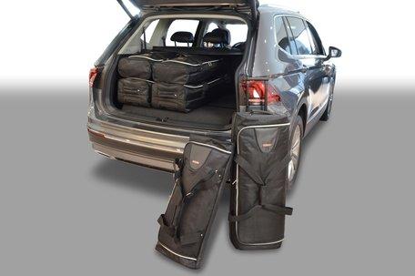 Carbags tassenset Volkswagen Tiguan II Allspace 2017-heden (7-zitter met 3e zitrij neergeklapt)