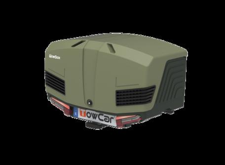Towbox V3 Trekhaakbagagebox Camper Zwart Groen