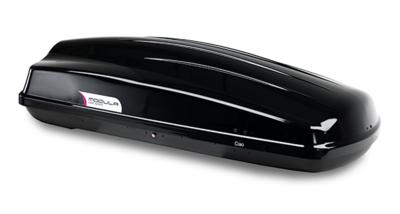 TIP ! Modula Ciao dakkoffer skibox 430 Liter hoogglans zwart- 75 kg