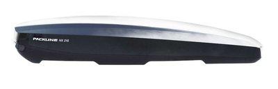 Packline dakkoffer NX 215 hoogglans zwart 450L