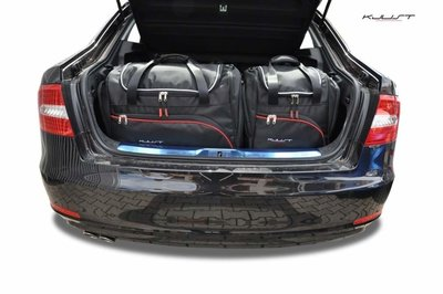 Kofferbak tassenset Skoda Superb Sedan 2008 t/m 2013