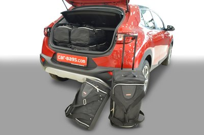 Carbags tassenset Kia Stonic (YB) 2017- (zonder verstelbare laadvloer)