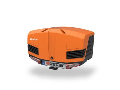 Towbox V3 Trekhaakbagagebox Sport Grijs Oranje